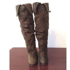 Banana Republic Shoes - Banana Republic Suede Tall Boots